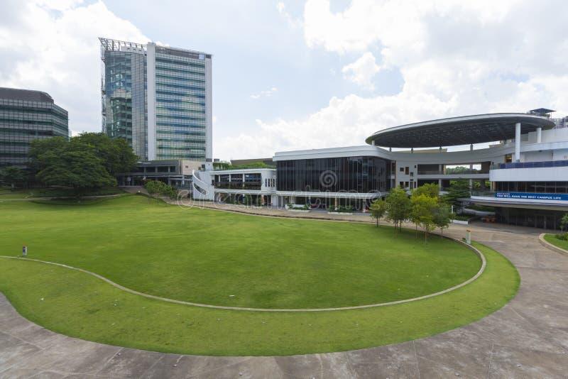 Université nationale de Singapour (NUS) image stock