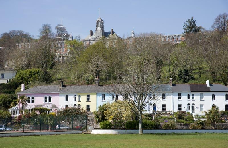 Université navale Dartmouth Devon England photos stock