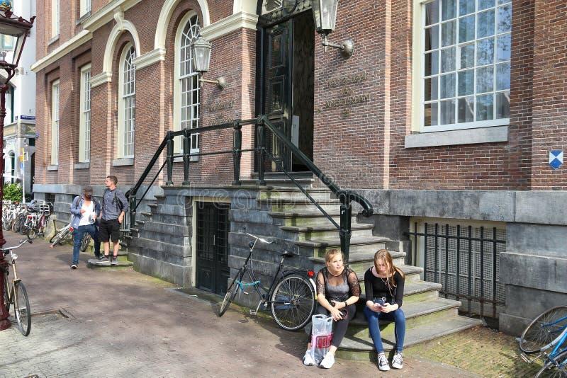 Universit? d'Amsterdam photo stock