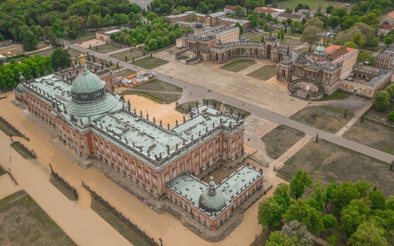 Universit? de Potsdam et de nouveau palais image stock