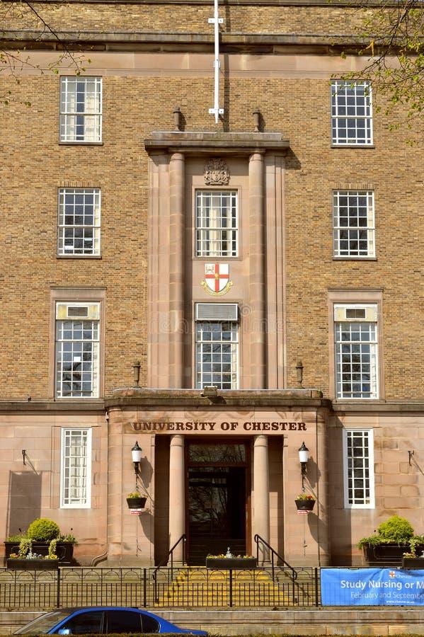 Universit? di Chester Riverside Campus fotografia stock