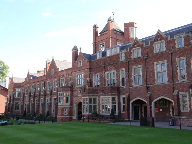 Universitair Belfast van de koningin royalty-vrije stock afbeeldingen