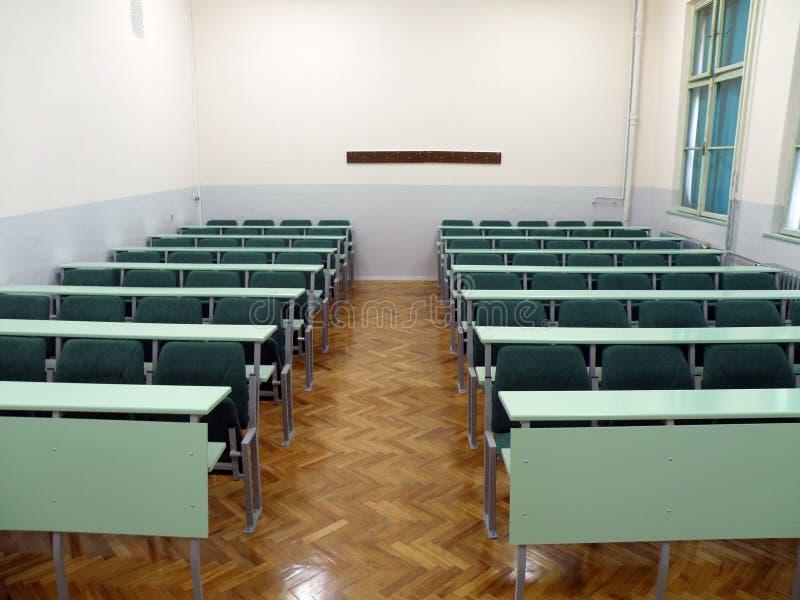Universitair klaslokaal stock foto's