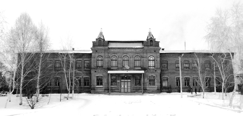 Universitaire architectuur stock foto