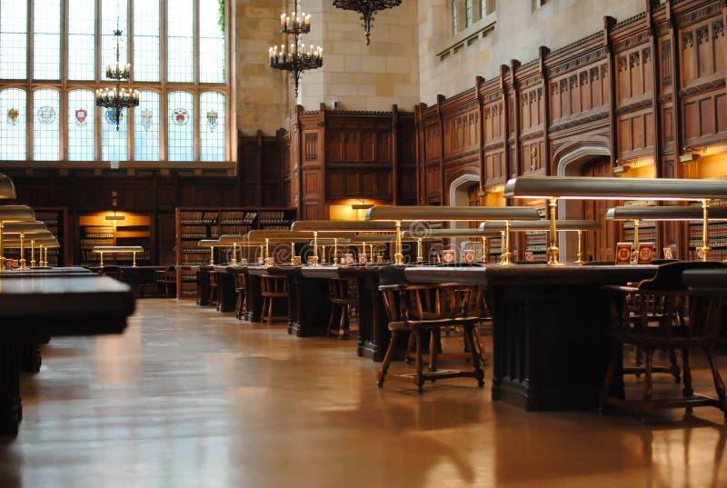 Universitaire Bibliotheek stock foto
