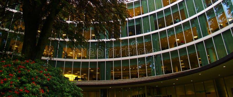 Universitaire Bibliotheek stock afbeeldingen