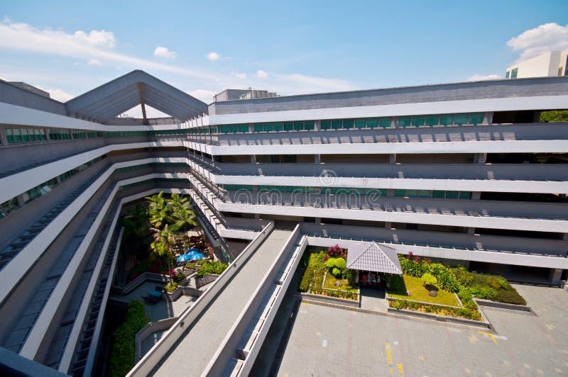 Universitaire Campus royalty-vrije stock fotografie
