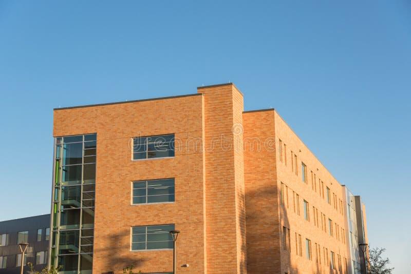 Universitaire campus stock afbeelding