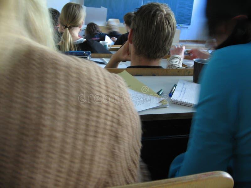 Universitaire Klasse stock foto