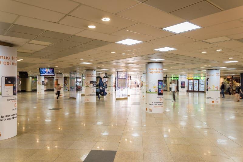 Universitaire Onderdoorgang in Boekarest stock afbeeldingen
