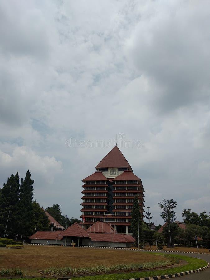 universitas Indonesia fotografia stock libera da diritti