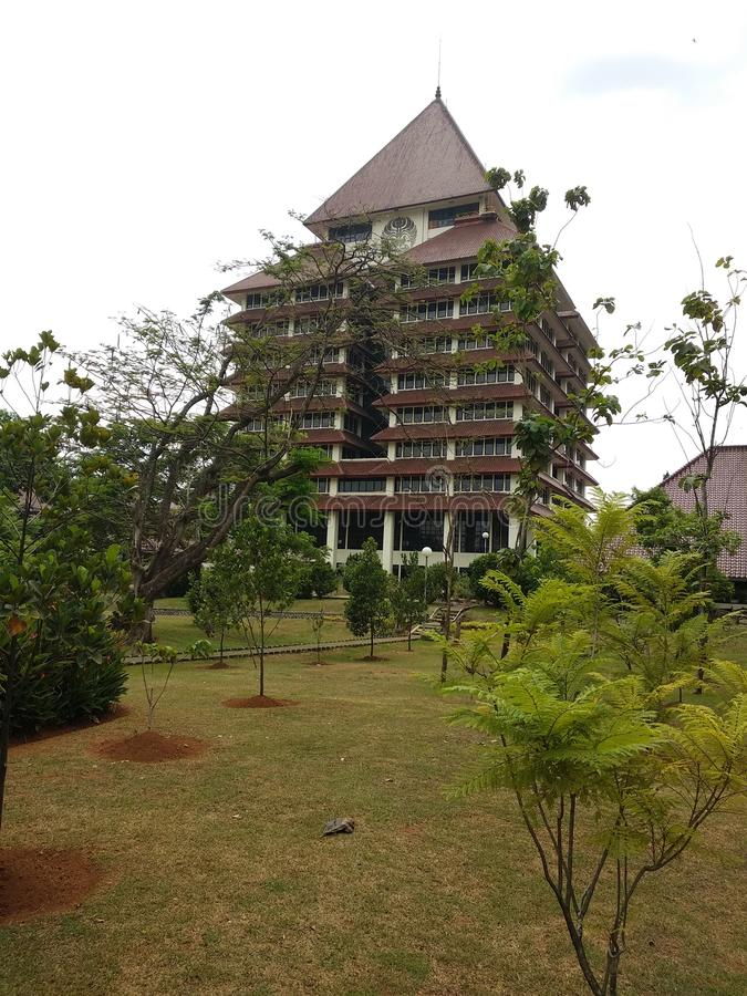 universitas Indonesia fotografia stock