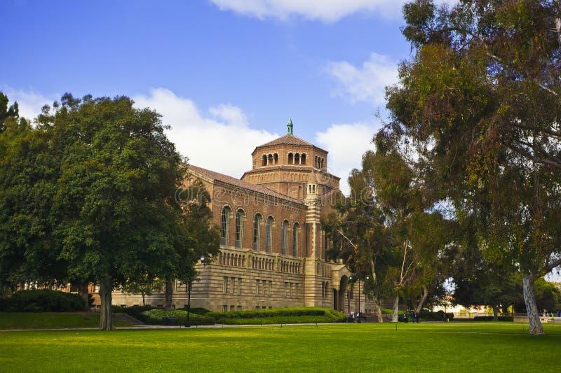 Universiteit van Californië stock afbeeldingen