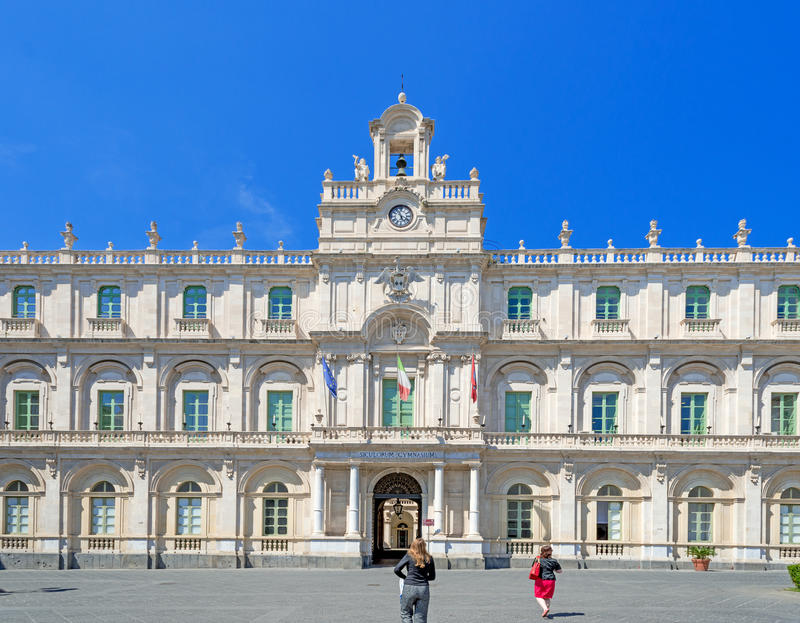 Universiteit van Catanië royalty-vrije stock fotografie