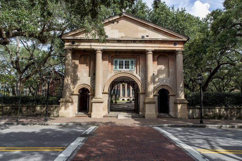 Universiteit van Charleston royalty-vrije stock foto's