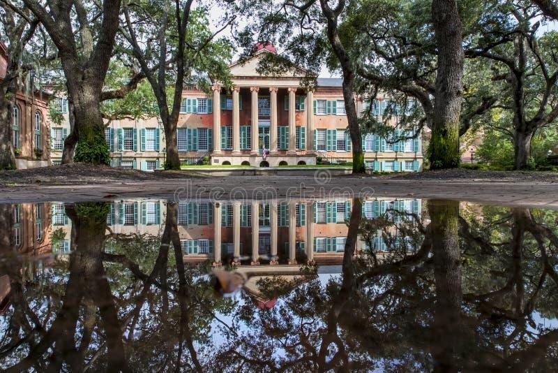 Universiteit van Charleston stock foto