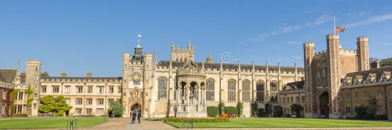 Universiteit van Corpus Christi in Cambridge het UK stock afbeeldingen