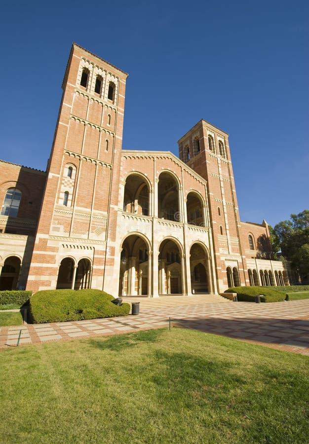 Universiteit van de Campus van Californië Los Angeles stock afbeelding
