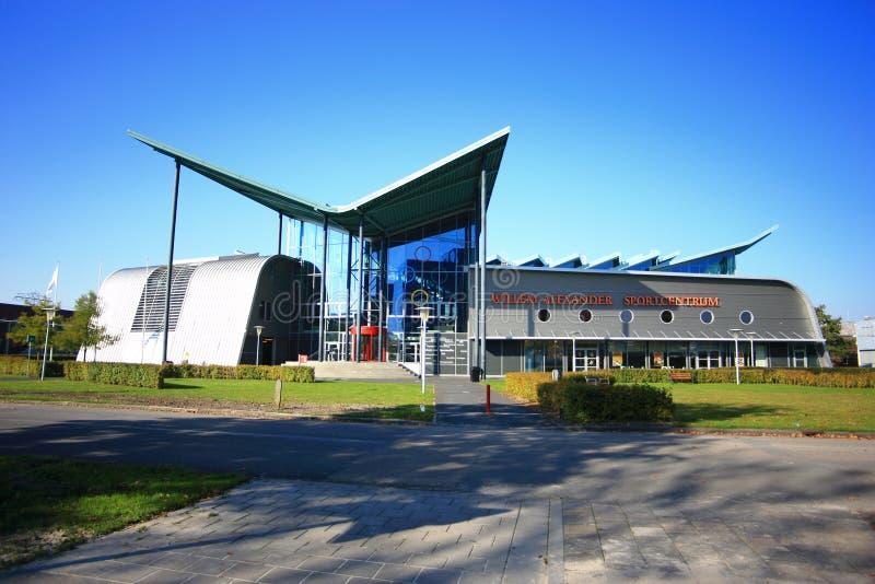 Universiteit van de campus van Groningen zernike royalty-vrije stock afbeelding