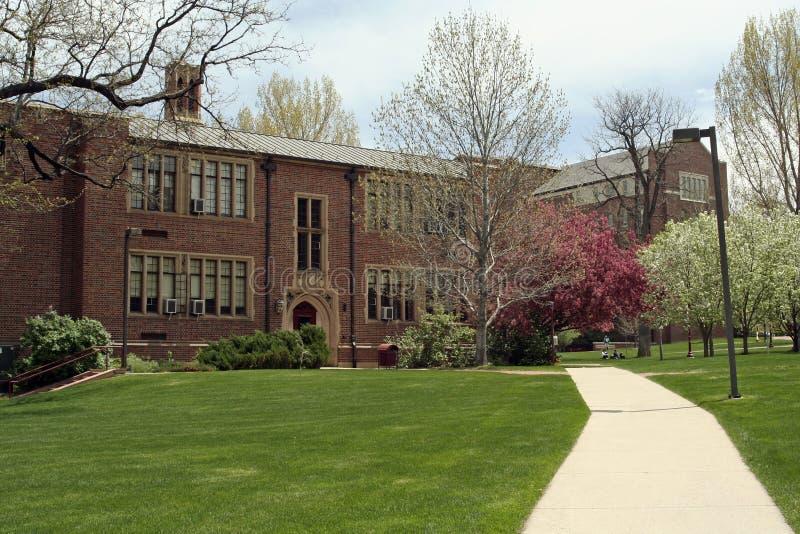 Universiteit van Denver stock fotografie