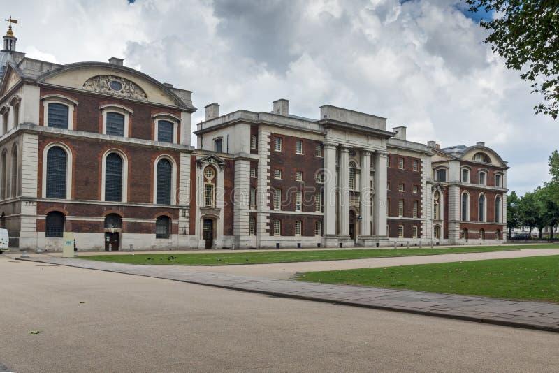 Universiteit van Greenwich, Londen, Engeland, het Verenigd Koninkrijk stock foto