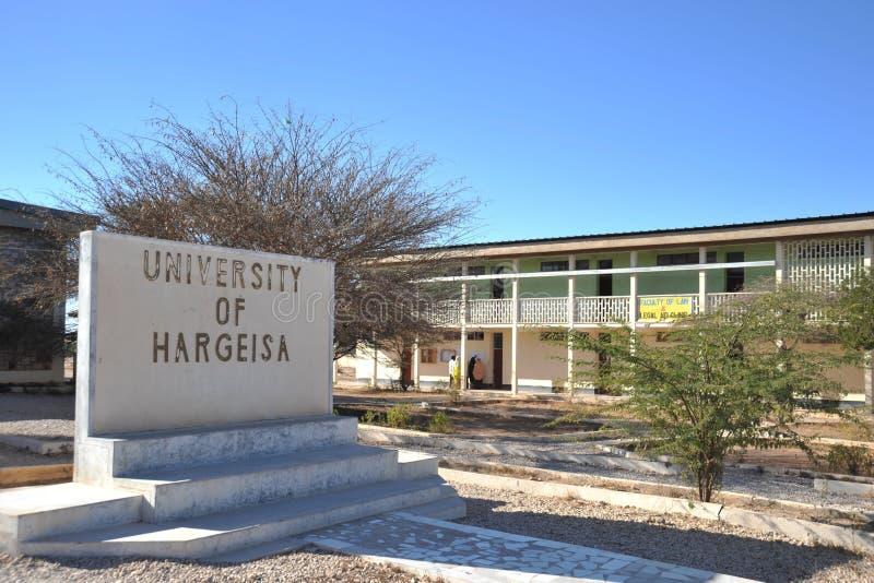 Universiteit van Hargeisa royalty-vrije stock afbeeldingen