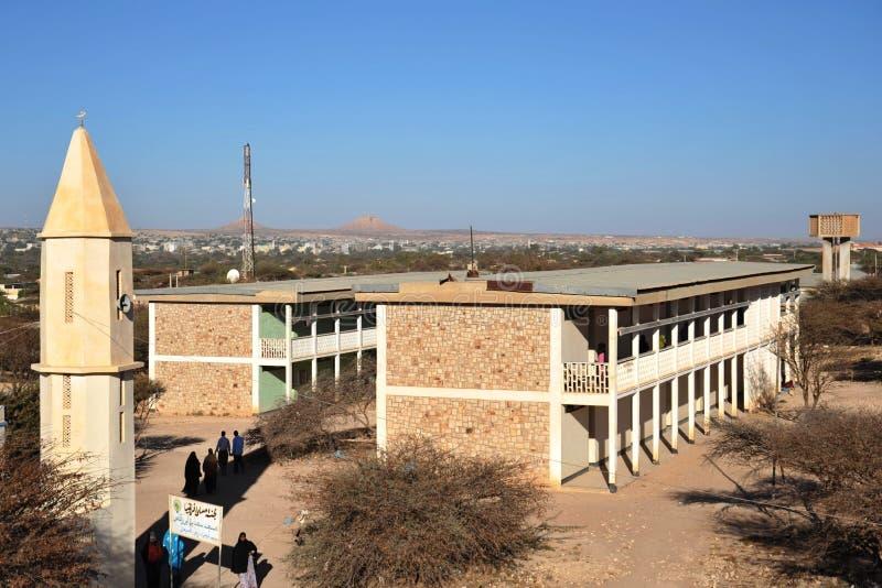 Universiteit van Hargeisa royalty-vrije stock afbeelding