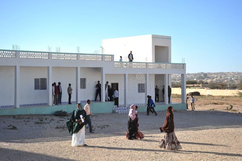 Universiteit van Hargeisa stock afbeelding