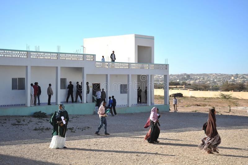 Universiteit van Hargeisa stock foto's