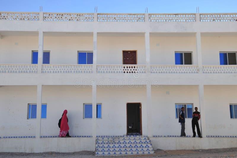 Universiteit van Hargeisa royalty-vrije stock fotografie