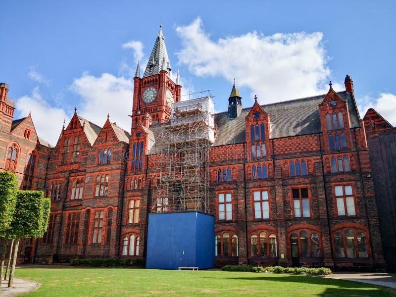 Universiteit van Liverpool royalty-vrije stock foto's