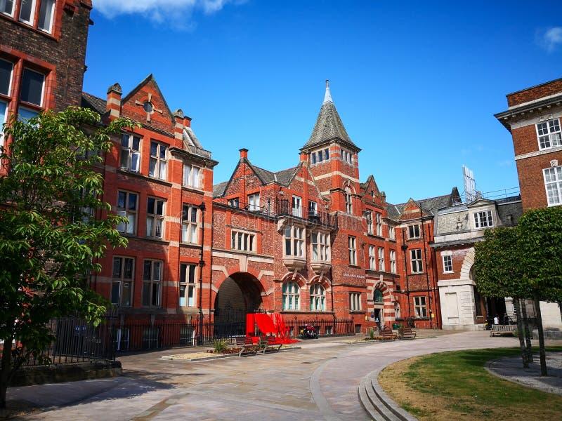 Universiteit van Liverpool stock afbeeldingen
