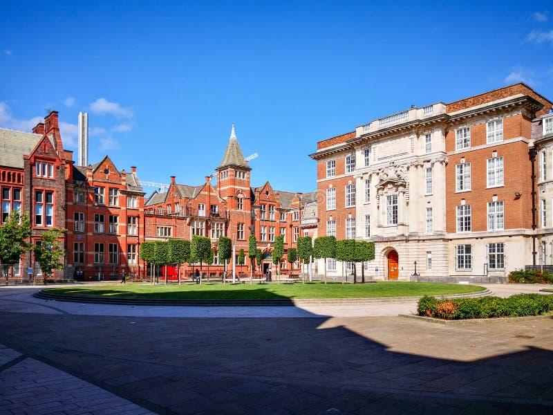 Universiteit van Liverpool stock fotografie