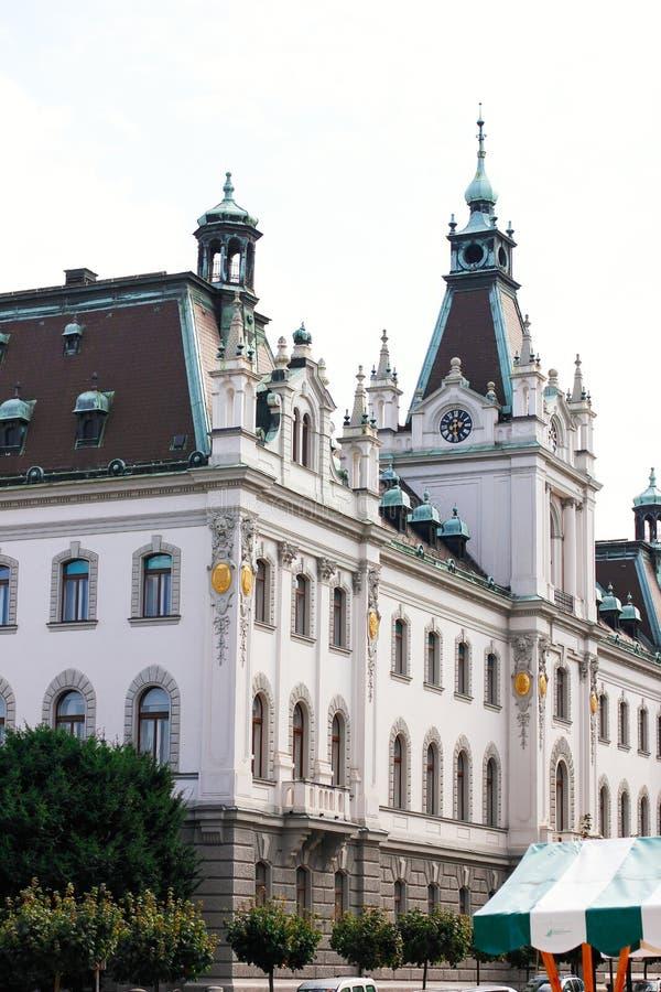 Universiteit van Ljubljana, Slovenië royalty-vrije stock afbeelding