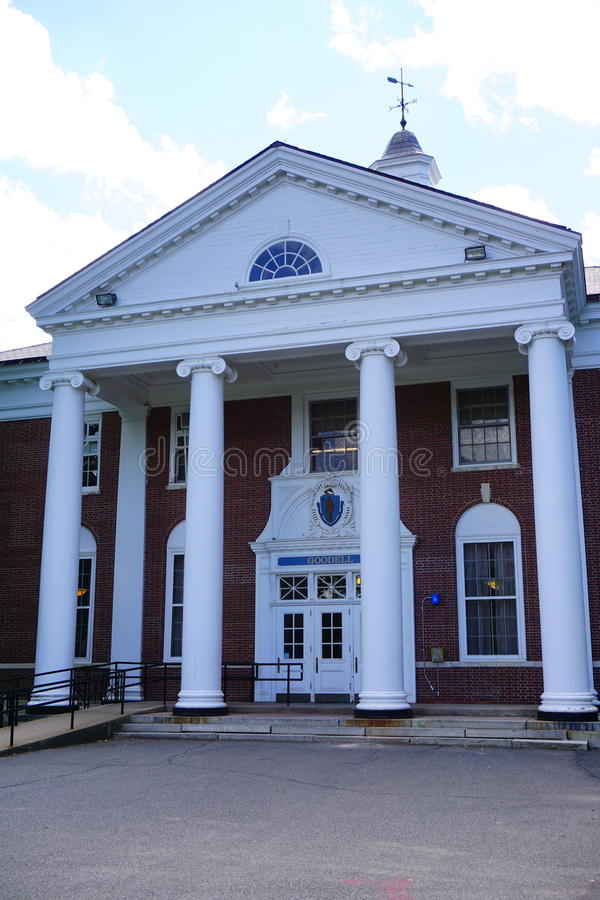 Universiteit van Massachusetts Amherst royalty-vrije stock foto's