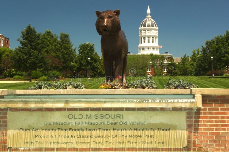 Universiteit van Missouri, Colombia, de V.S. royalty-vrije stock foto's