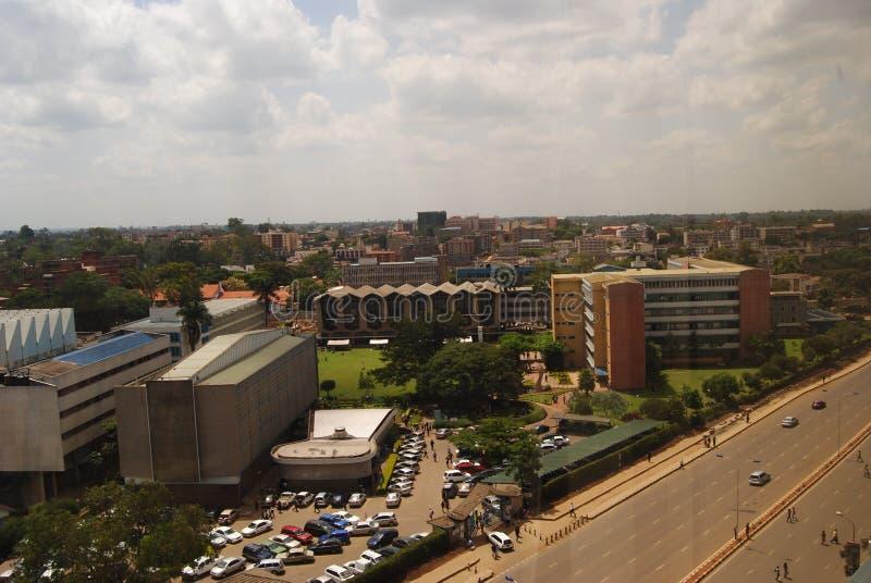 Universiteit van Nairobi stock foto