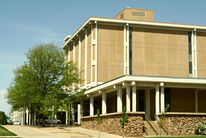 Universiteit van Noordelijk Colorado royalty-vrije stock fotografie