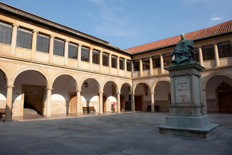 Universiteit van Oviedo royalty-vrije stock afbeelding