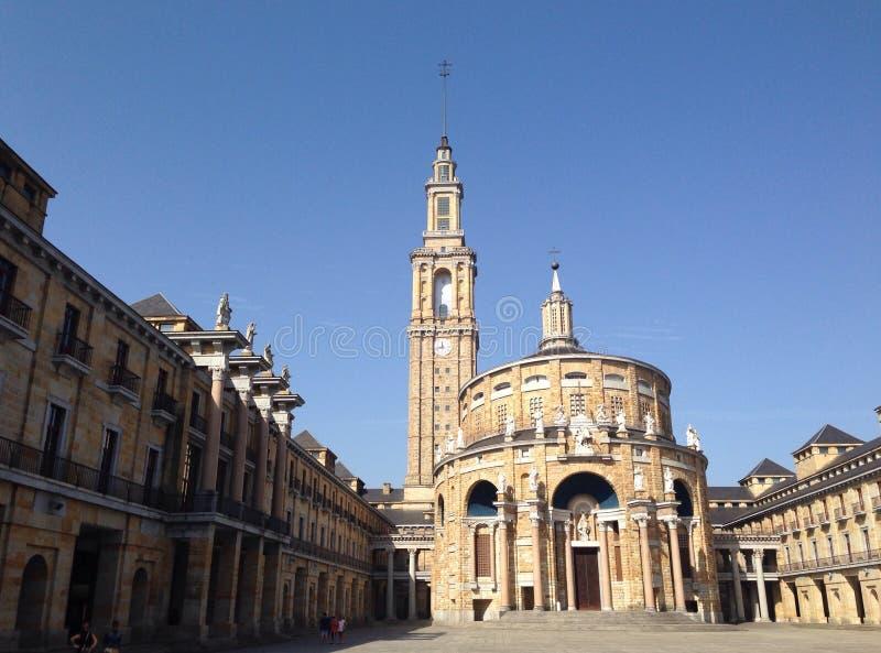 Universiteit van Oviedo royalty-vrije stock foto's