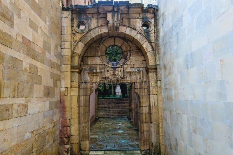 Universiteit van Oviedo stock foto's