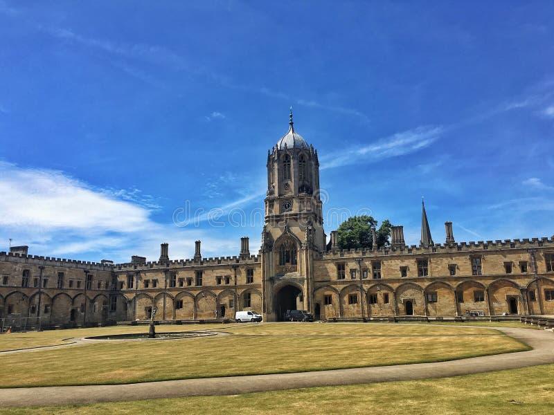 Universiteit van Oxford stock foto
