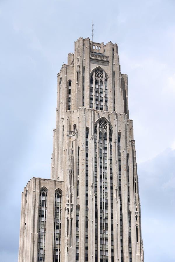 Universiteit van Pittsburgh royalty-vrije stock afbeeldingen