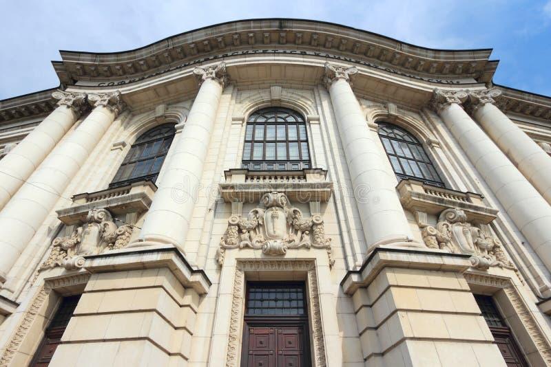 Universiteit van Sofia royalty-vrije stock foto
