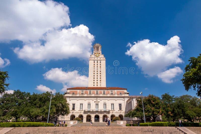 Universiteit van Texas royalty-vrije stock afbeeldingen