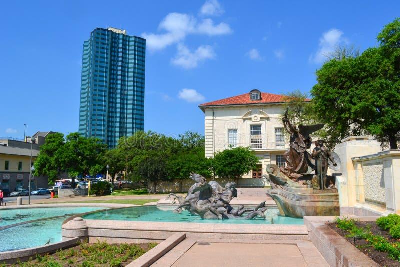 Universiteit van Texas Longhorns Austin Campus stock fotografie