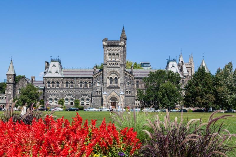 Universiteit van Toronto - Front Campus stock fotografie