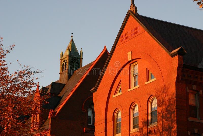 Universiteit van Vermont stock afbeelding