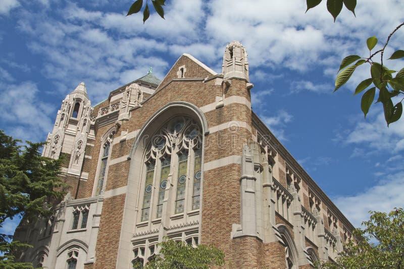 Universiteit van Washington stock fotografie