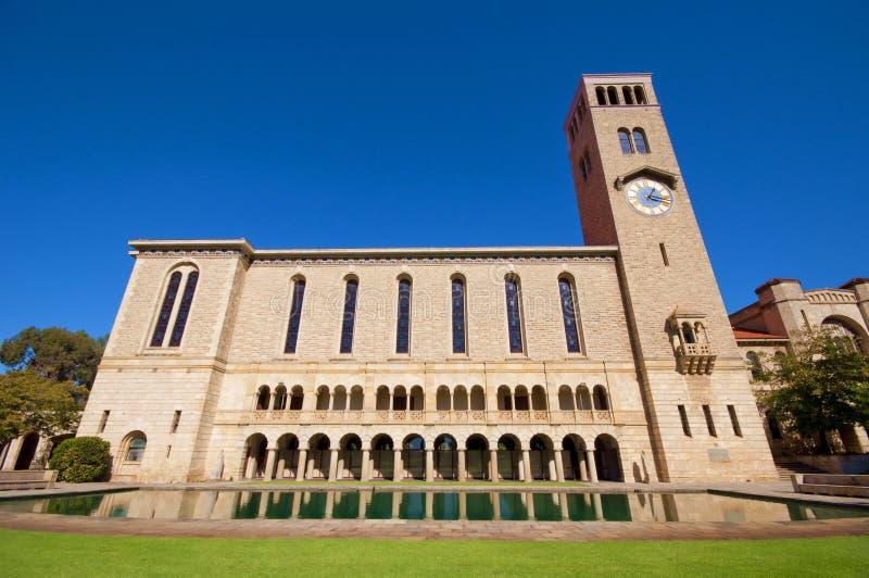 Universiteit van Westelijk Australië stock afbeelding